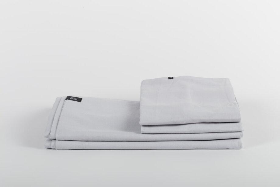 Pościel Płotno Szare - Pure Cotton Bedding
