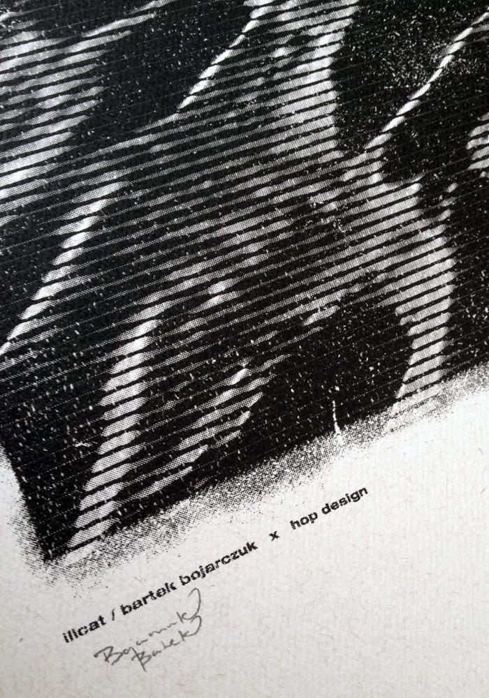 Plakat HOP DESIGN - BAŁTYK (projekt: Bartek Bojarczuk)