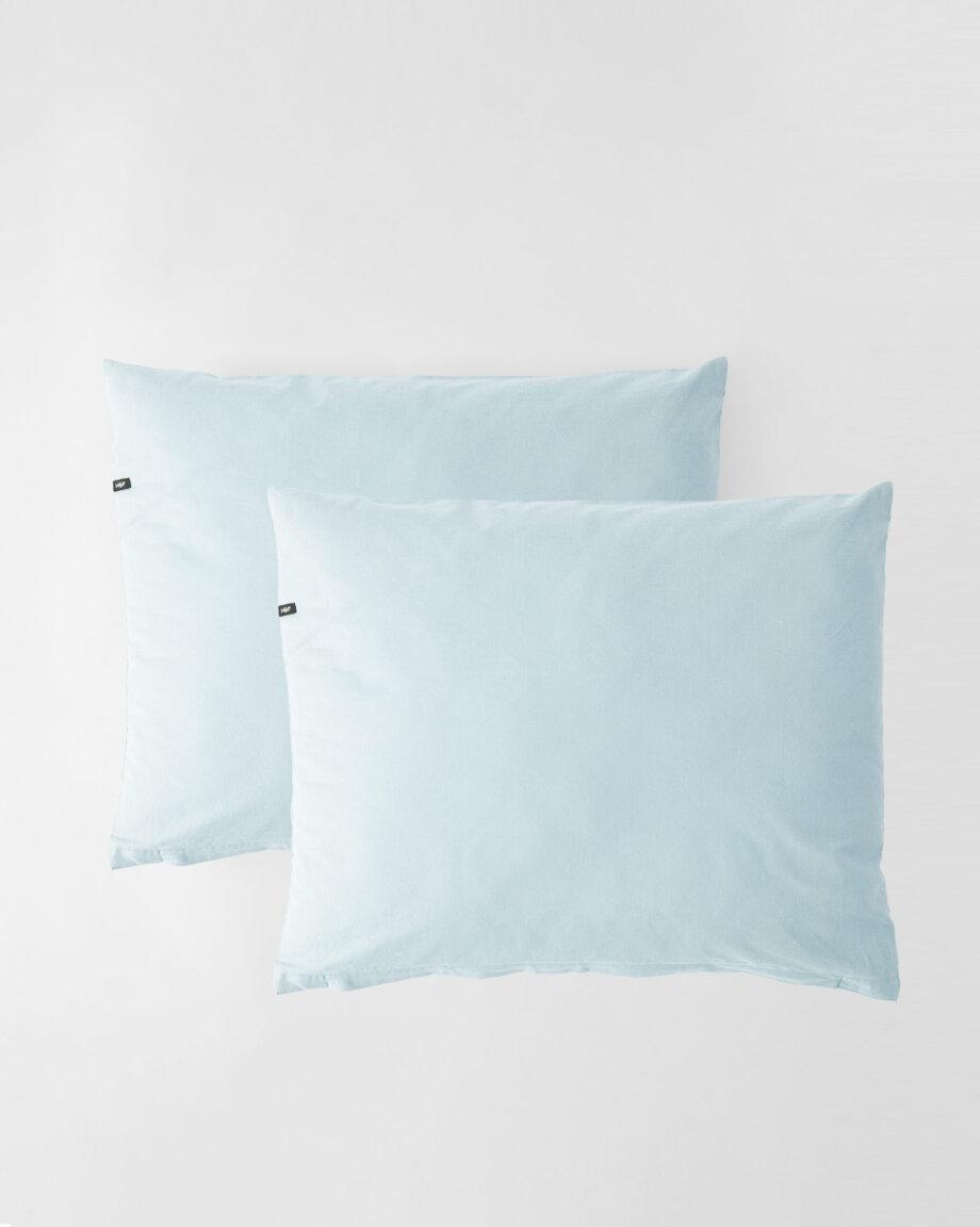 Poszewki PURE - pastelowy błękit