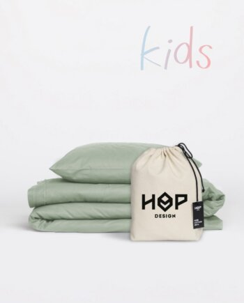 Pościel dla dzieci - PURE (szałwiowa zieleń)