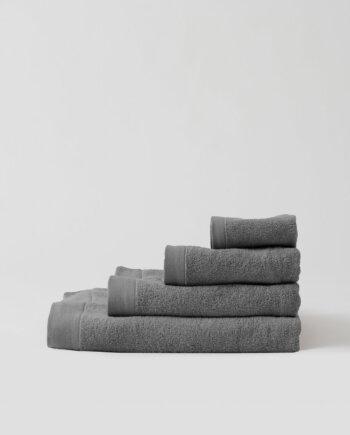 Ręczniki bawełniane jasnoszare
